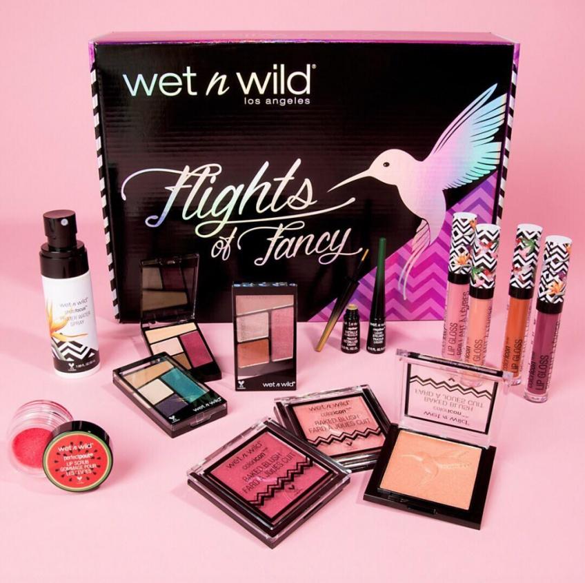 Wet n Wild imagine la première collection de make-up arc-en-ciel inspirée par les oiseaux