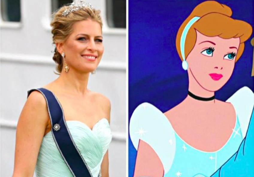 20 photos de vraies princesses avec leurs sosies Disney !