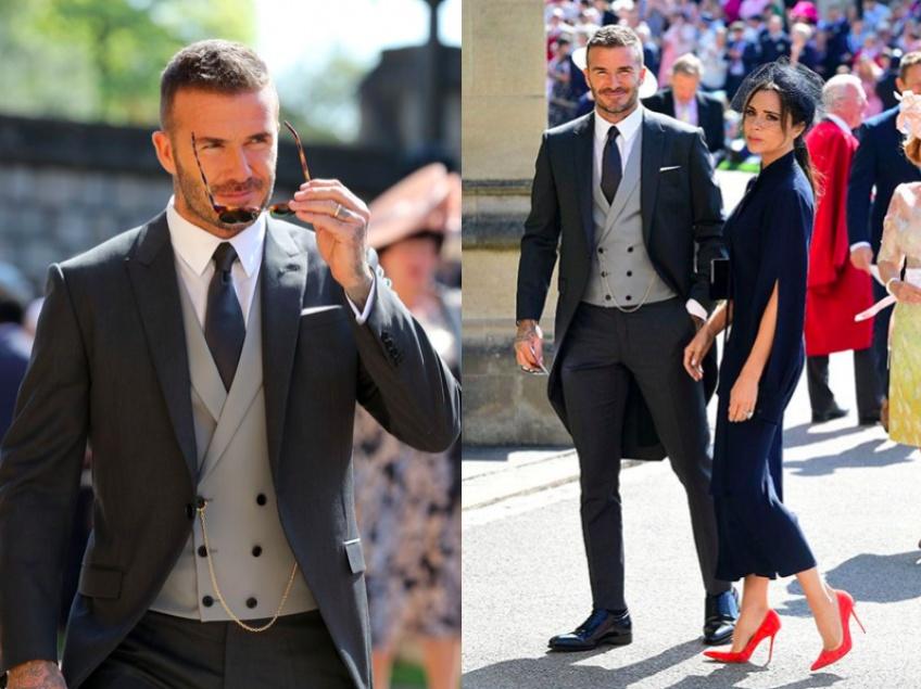 Quand David Beckham fait de l'ombre au Prince Harry