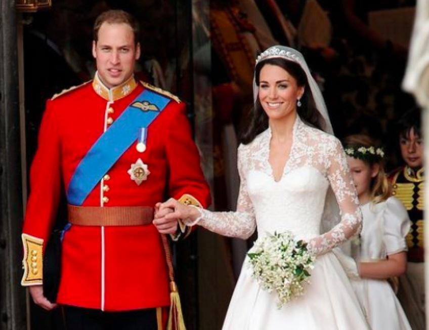 H&M propose une réplique de la robe de mariée de Kate Middleton !