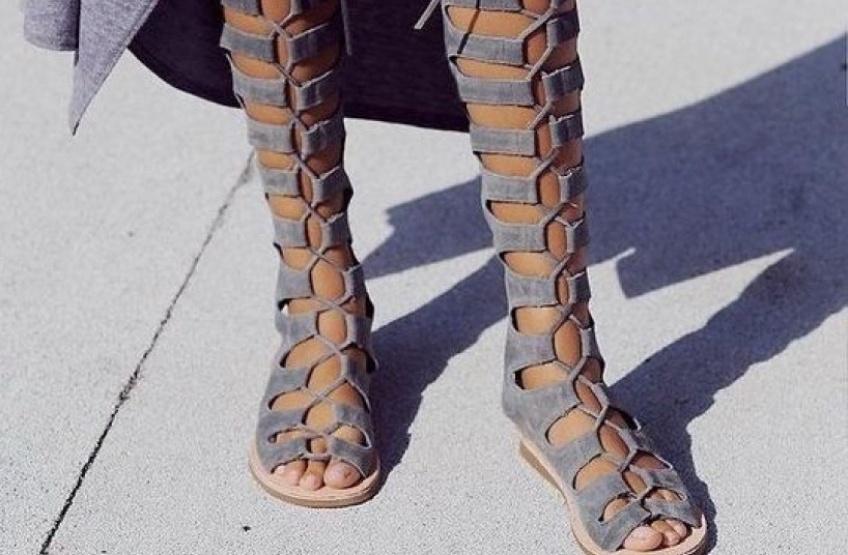 #Shoesday : Les spartiates reviennent en force cet été pour vous faire craquer !