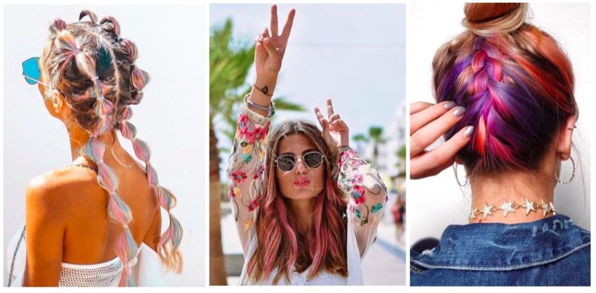 5 coiffures colorées ultra-stylées pour un look de festivalière au top !