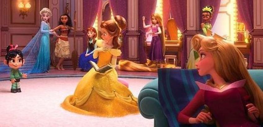 Toutes les princesses Disney réunies dans le prochain film Ralph 2.0