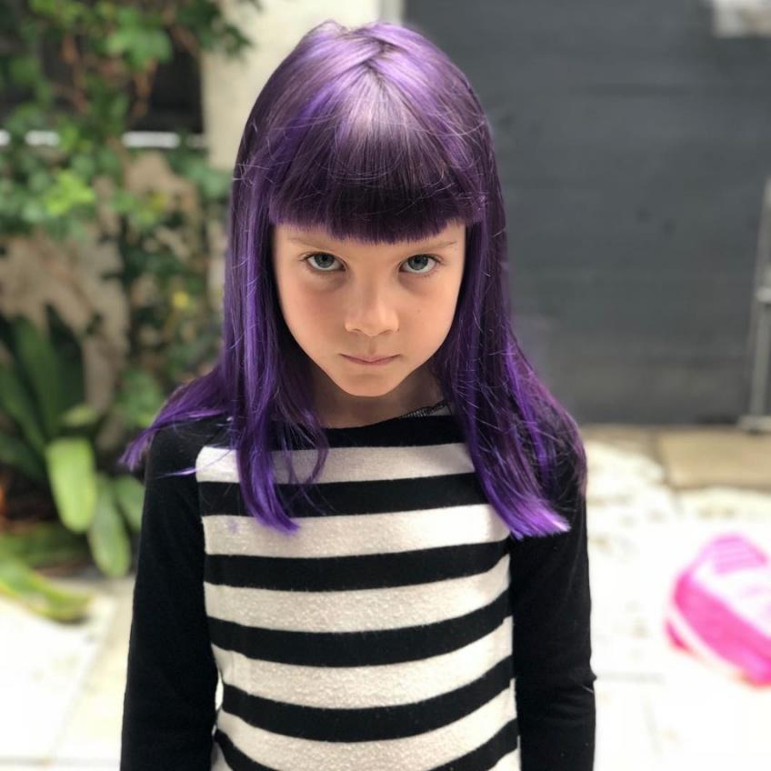 Willow, la fille de Pink ose une nouvelle coloration pourpre !