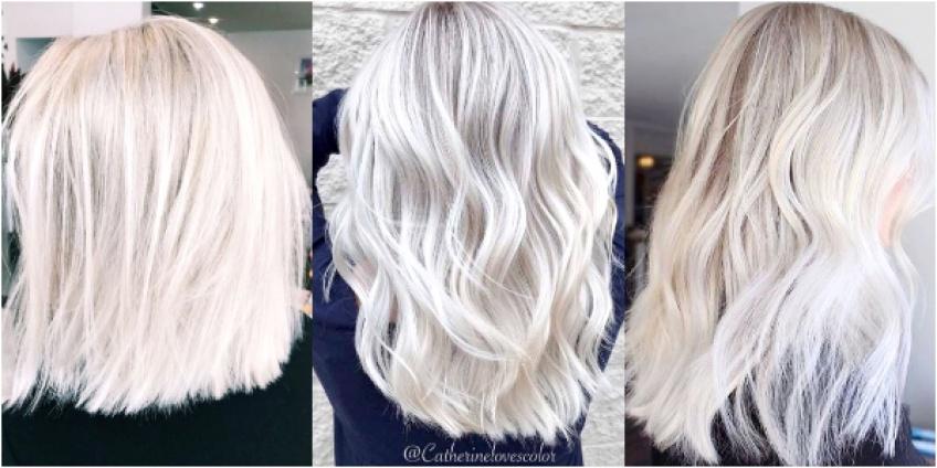 Le Blond Platine La Coloration Star De L Ete