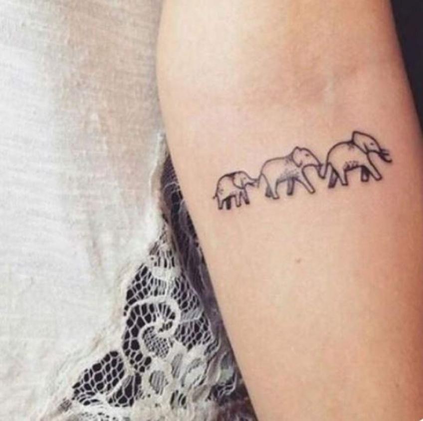 Cette saison, le tatouage s'inspire de nos animaux favoris