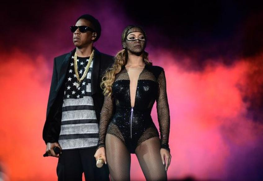 Beyoncé et Jay-Z en toute intimité et plus sexy que jamais sur des clichés de leur tournée !