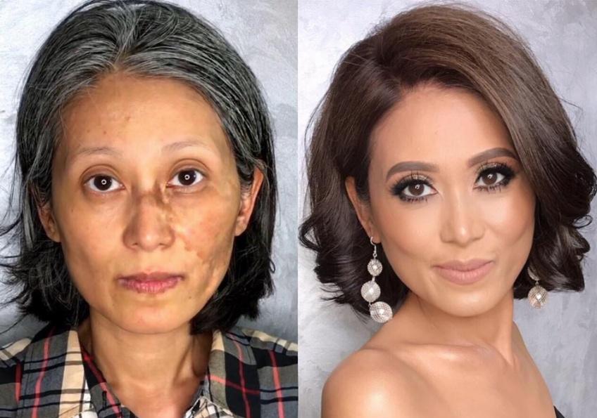 Cette make-up artist redonne confiance à des femmes grâce au maquillage