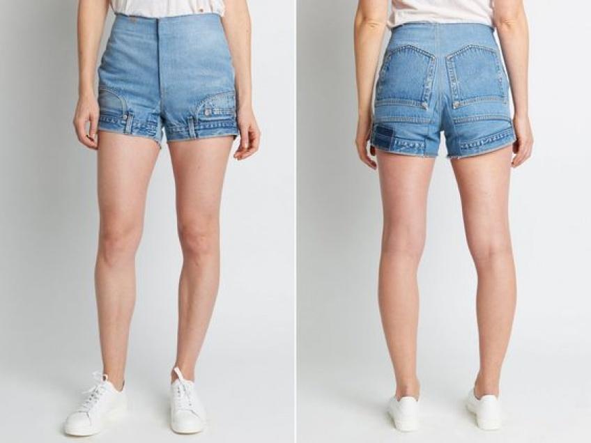 Tendance WTF : Le short en jean qui se porte à l'envers