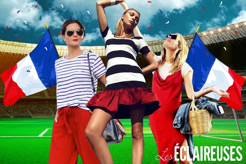Coupe du monde : toutes en bleu, blanc, rouge pour mettre le feu derrière les bleus !