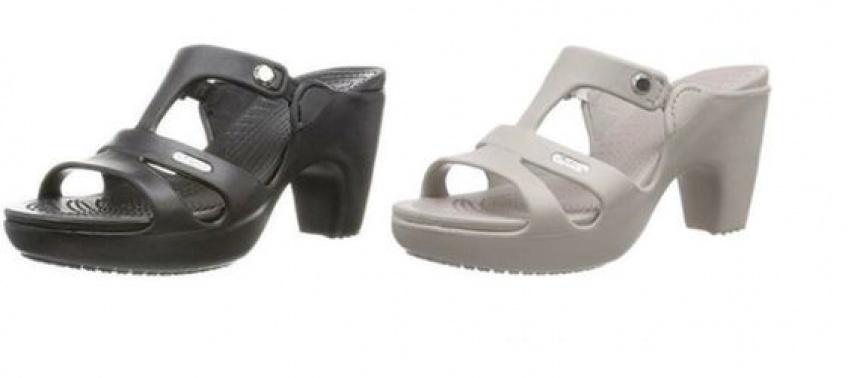 Les Crocs à talons, nouveau it-shoes de l'été ?
