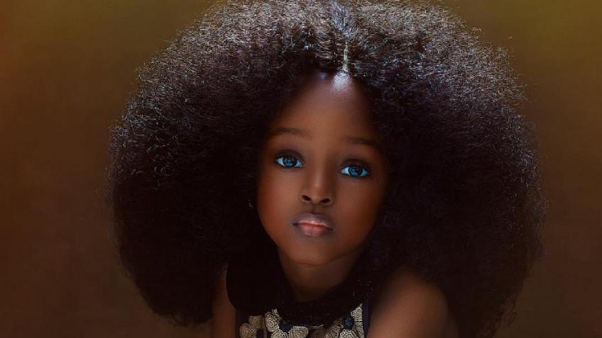 Voici la nouvelle ''plus belle petite fille du monde''