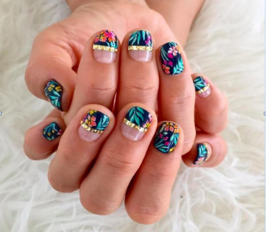 Le Tropical Nail, le nail art qui a marqué l'été !