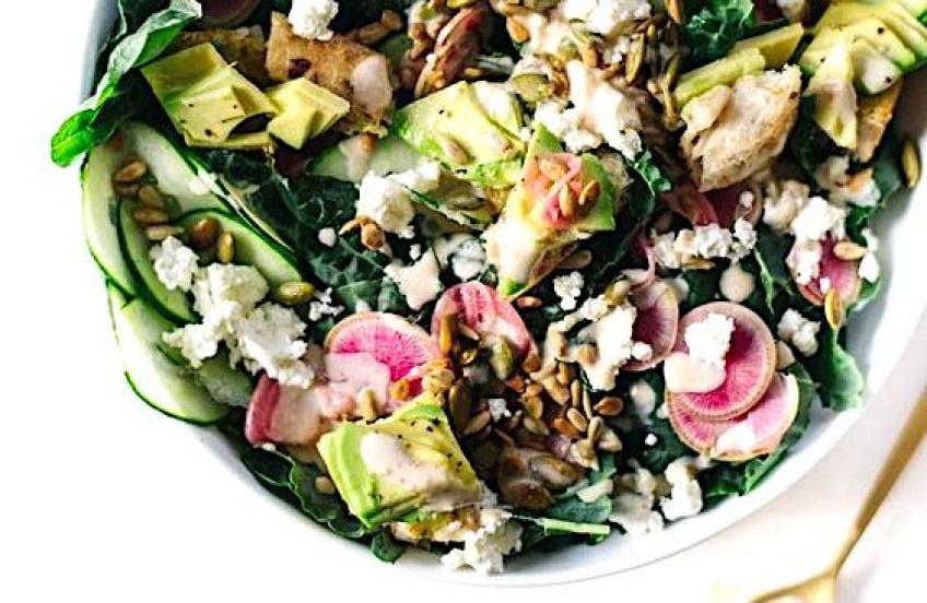 Des salades originales pour passer de l'été à l'automne tout en douceur !
