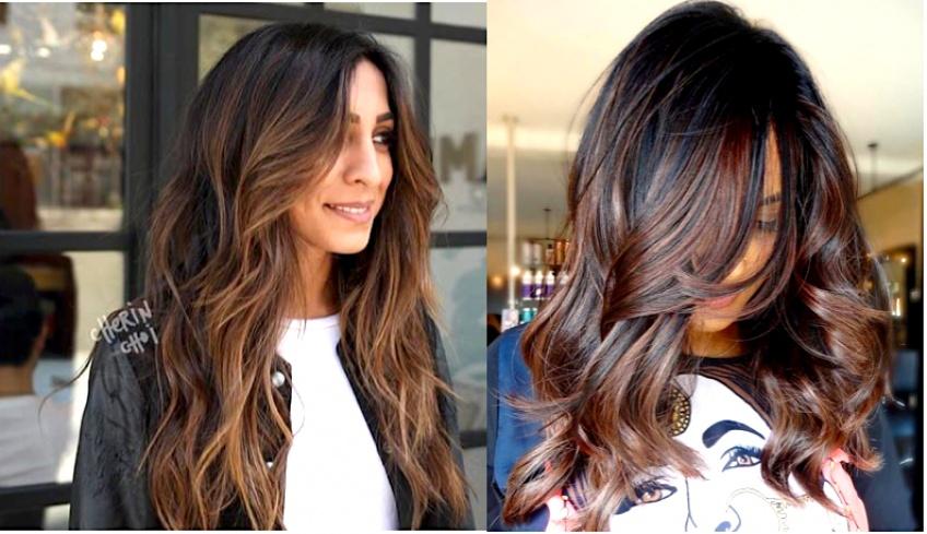 Coloration cheveux marron cafe