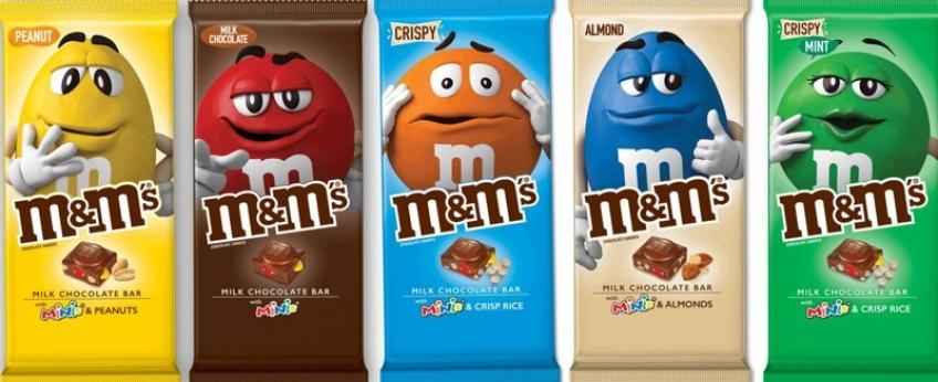 Le géant M&M's sort deux nouveautés qui vous mettront l'eau à la bouche