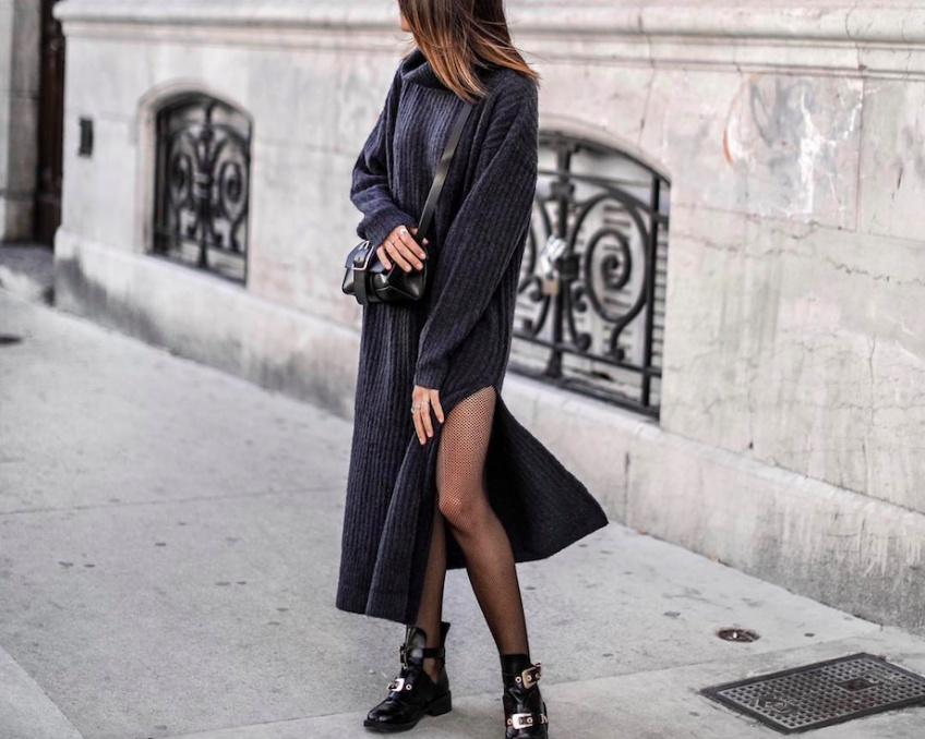 Les robes pull les plus cocooning, pour passer la saison au chaud !