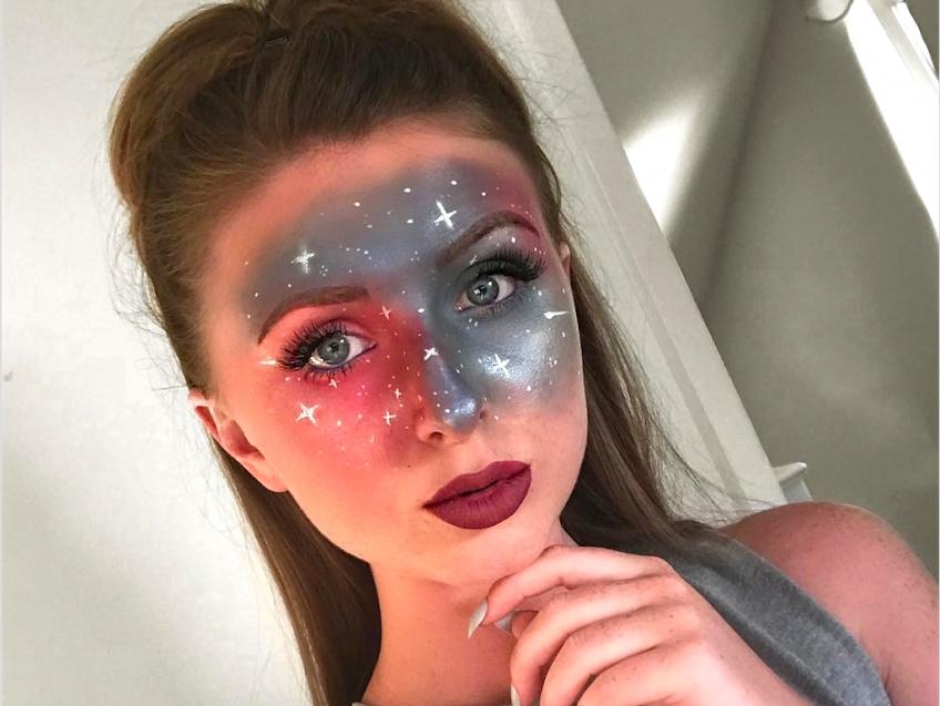 Le Celestial Make-Up : le maquillage parfait pour Halloween !