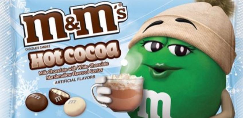 M&M'S fait de nouveau sensation en créant sa nouvelle saveur Chocolat chaud