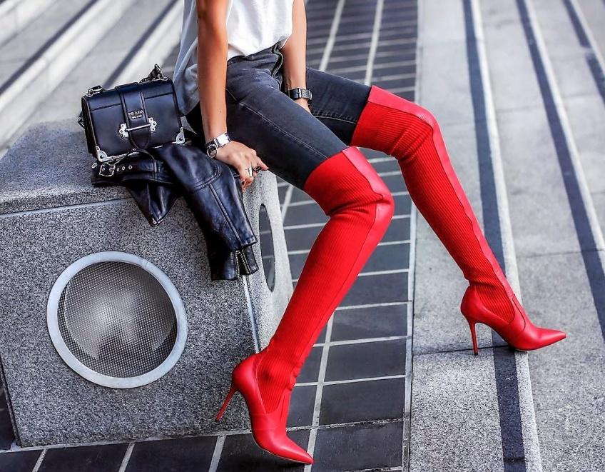 #Shoesday : Les chaussures rouges qui vont illuminer tous vos looks de l'hiver !
