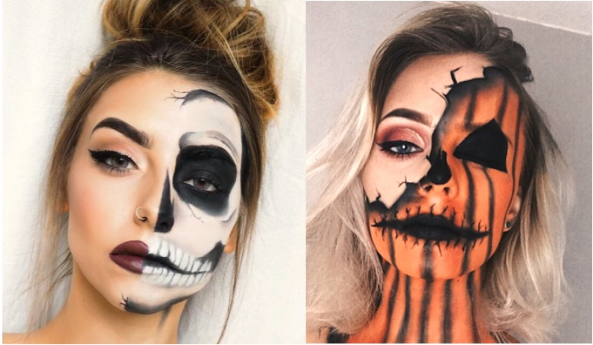 Les tutos rapides et efficaces pour un make-up d'Halloween de dernière minute !