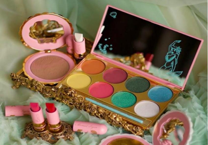 Bésame Cosmetics lance une collection inspirée des sirènes de Peter Pan