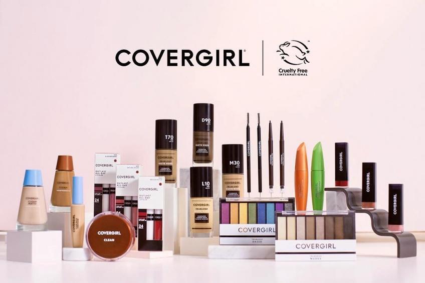 CoverGirl vient d'annoncer qu'elle ne teste plus les produits sur les animaux !