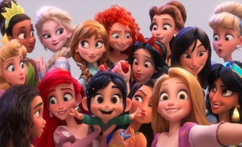 Les Princesses Disney de retour dans un même film