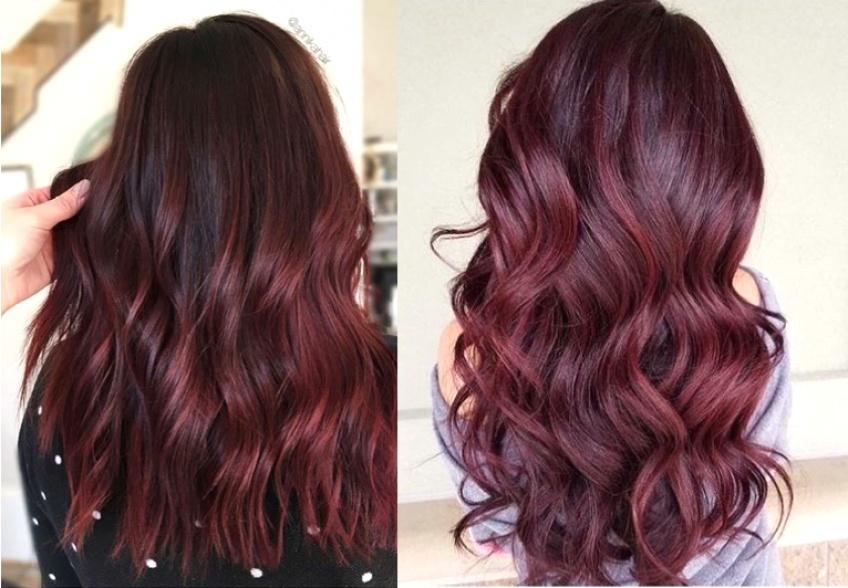 Des cheveux Mulled Wine pour réchauffer votre look hivernal