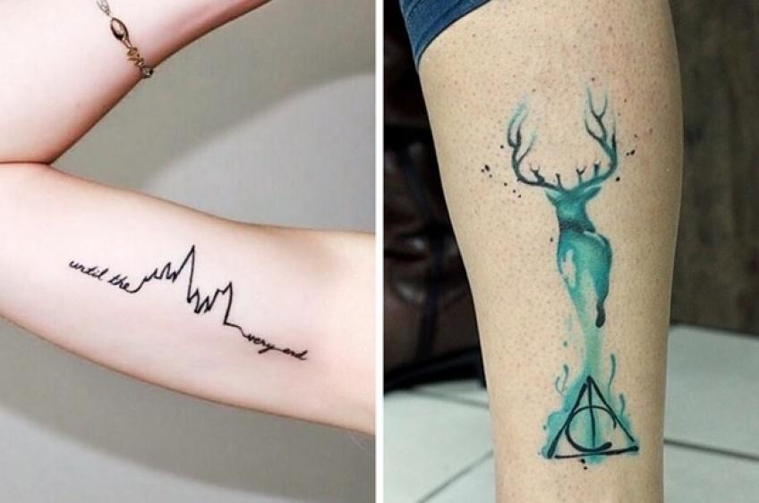 tatouages Harry Potter