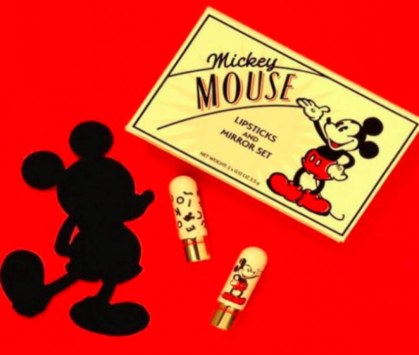 Besame Cosmetics lance un rouge à lèvres à l'effigie de Mickey Mouse !