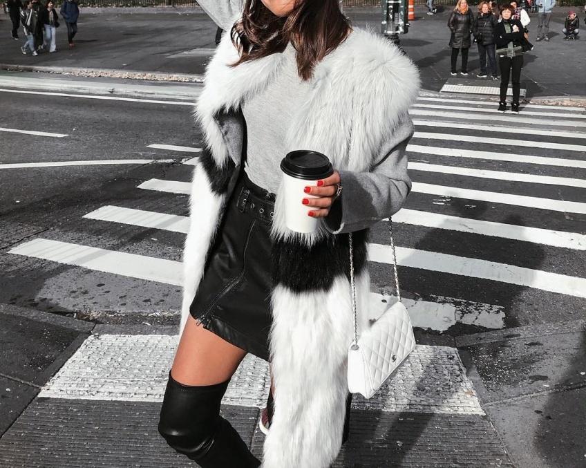 5 façons canon de porter la jupe cet hiver sans risquer d'attraper froid !