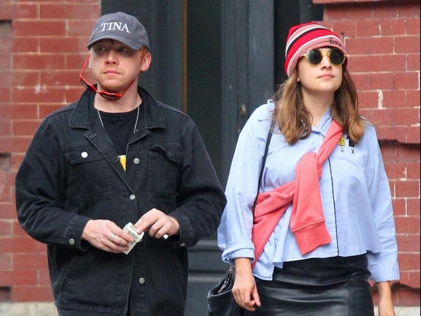 Rupert Grint Couple