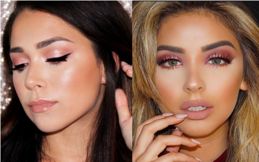 Le make-up rose gold à adopter de toute urgence lors de vos soirées