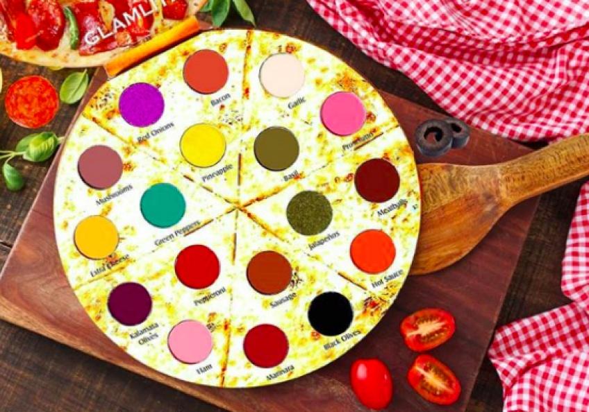Cette palette en forme de pizza fera succomber les plus gourmandes d'entre vous