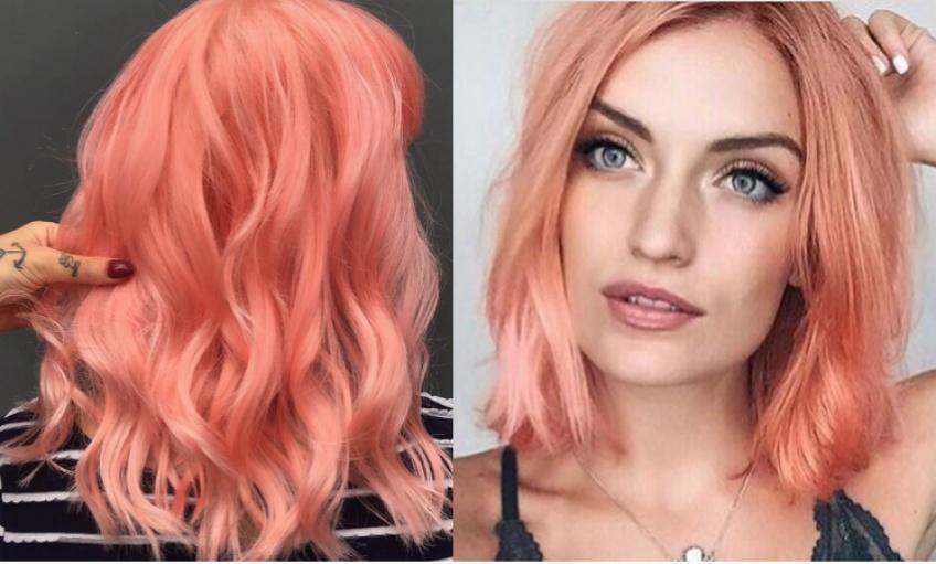 Living Coral Hair : La couleur Pantone de l'année 2019 s'invite sur nos cheveux !