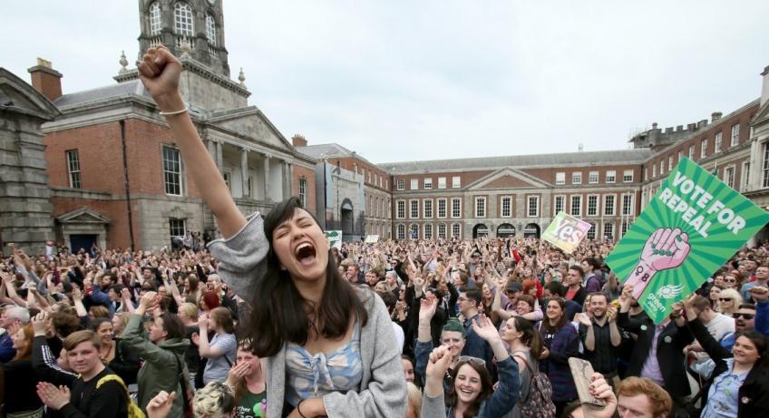 Enfin ! La légalisation de l'avortement en Irlande !