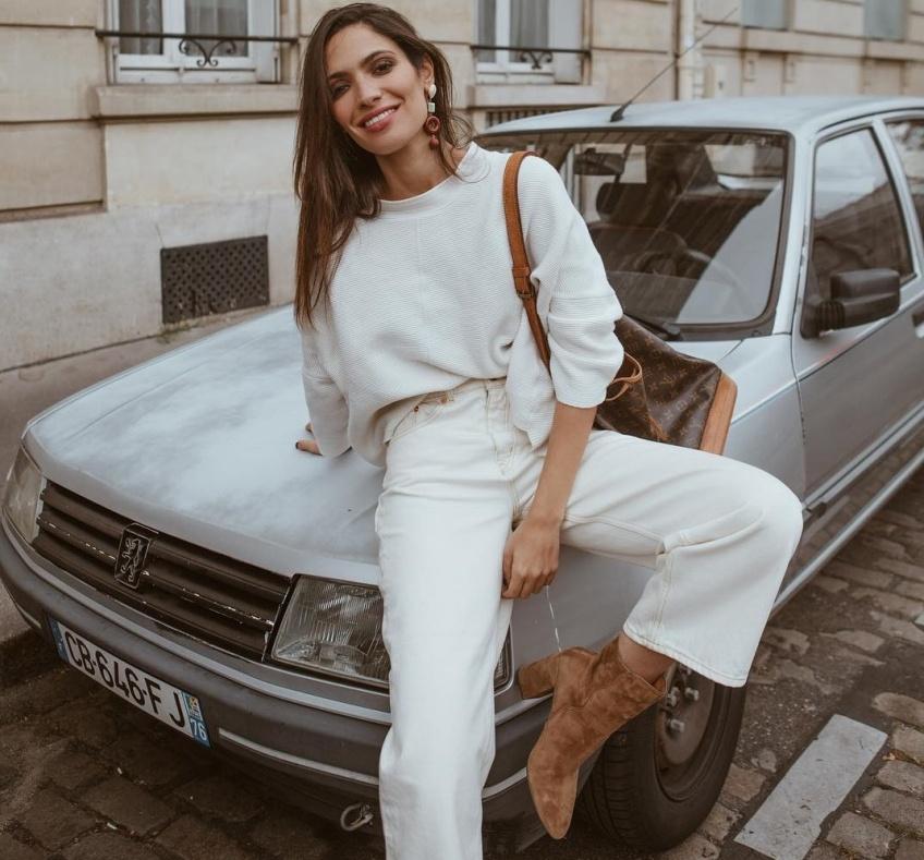 Mode Astuces Pantalon blanc