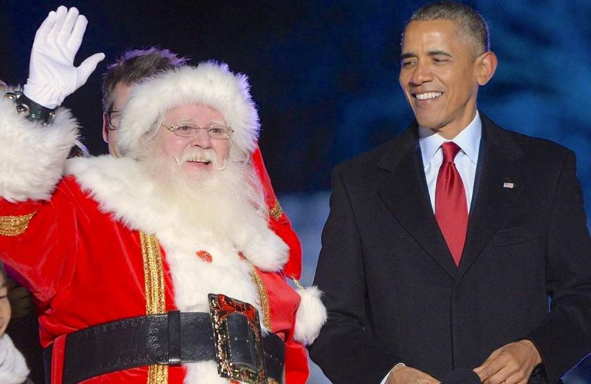 Obama Noël