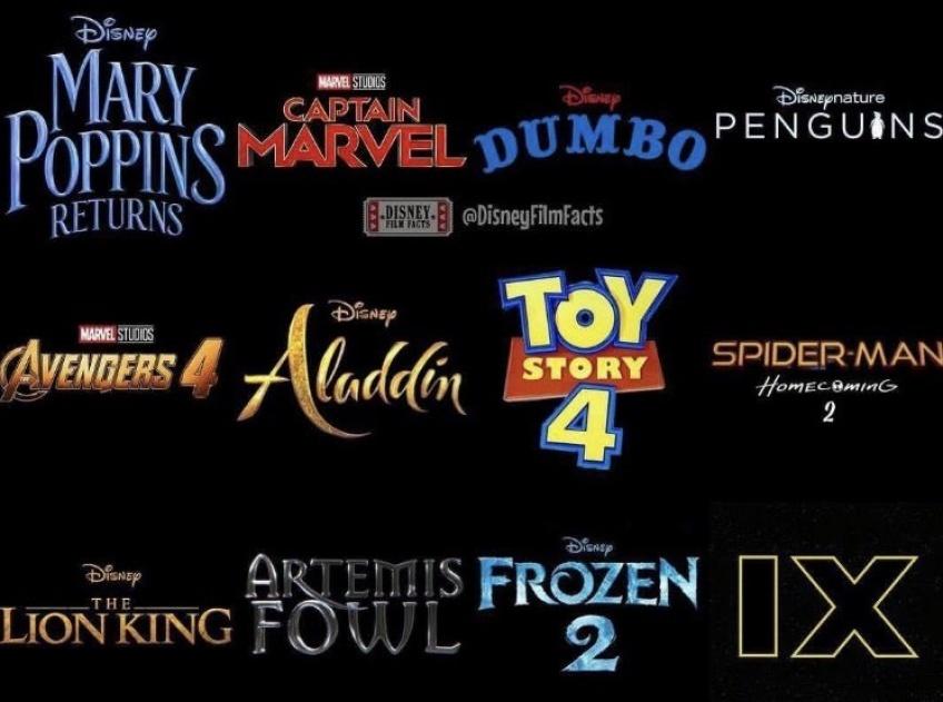 Disney Films 2019