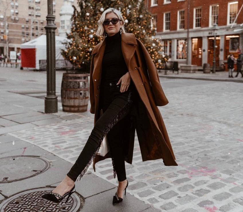 mode manteaux longs hiver sélection