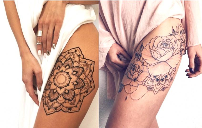 Les plus beaux tatouages à réaliser sur la cuisse !