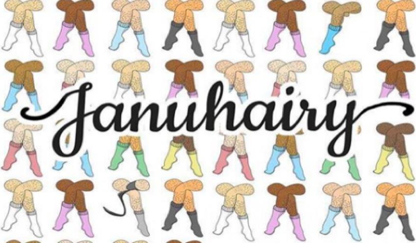 Januhairy : le défi qui invite les femmes à assumer leurs poils !