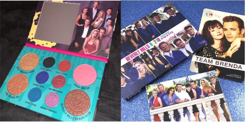 Sola Look lance une nouvelle palette make-up de 90210 Beverly Hills !