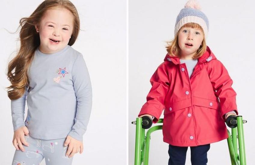 Marks & Spencer collection enfants handicapés