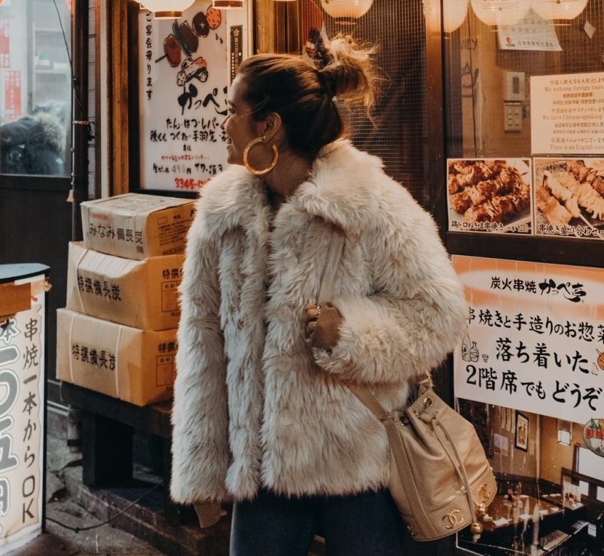 mode sélection manteaux fausse fourrure hiver