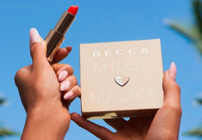 Khloé Kardashian et Mallika Haqq s'associent à Becca pour une toute nouvelle collection de make-up !