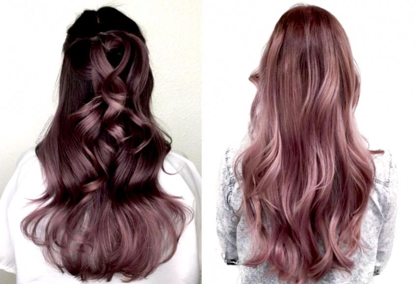 Chocolate Lilac Hair : La couleur la plus tendance de la saison !