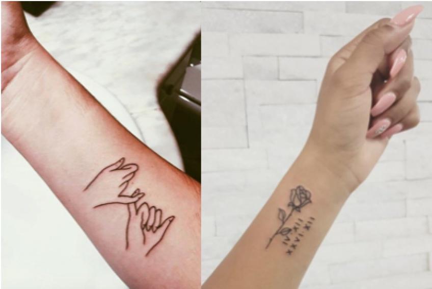 Les tatouages les plus touchants qui symbolisent l'amour !