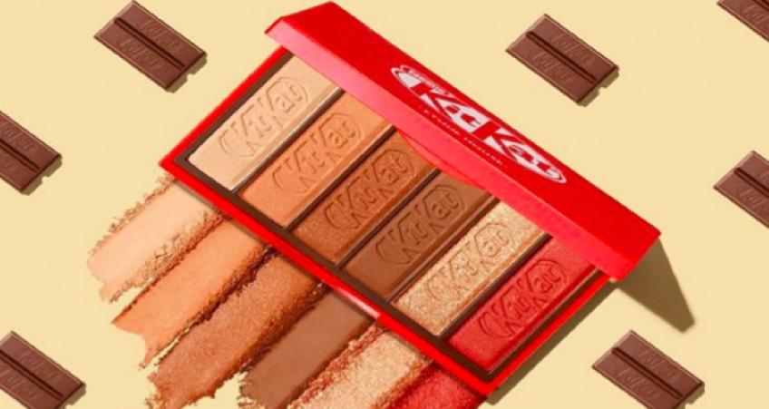 Une marque s'inspire des chocolats Kit Kat pour sa nouvelle palette de maquillage !